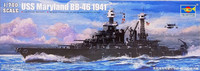 USS Maryland BB-46 1941, 1:700