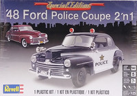 Ford '48 Police Coupe 2'n1, 1:25