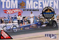 Top Fuel Dragster 1972, Tom Mogoose McEwen, 1:25