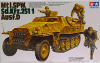 Mt I.SPW. Sd.Kfz.251/1 Ausf.D 1:35