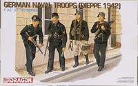 German Naval Troops (Dieppe 1942), 1:35