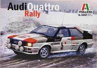 Audi Quattro Rally, 1:24 (pidemmällä toimitusajalla)