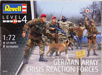 German Army Crisis Reaction Forces, 1:72