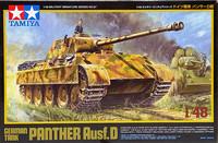 German Tank Panther Ausf. D, 1:48 (pidemmällä toimitusajalla)