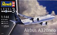 Airbus A320neo Lufthansa, 1:144 (pidemmällä toimitusajalla)