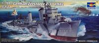 German Zerstorer Z-30 1942, 1:700 (pidemmällä toimitusajalla)