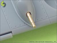 German Machine Gun MK 108 (30mm) Barrels & Blast Tubes (2pcs), 1:48