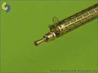 German WWI Machine Gun Spandau LMG 08/15 (7,92mm) Barrels (2pcs), 1:48