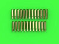 Browning .50 Cal (12.7mm) Empty Shells (25pcs), 1:35