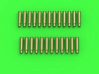 German Machine Gun (7.92) MG-34 / MG-42 Empty Shells (25pcs), 1:35