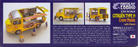 Citroën Type H Crepe Mobile with figures, 1:24