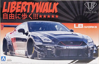 Nissan R35 GT-R Type 2 Ver.2 LB-Works, 1:24