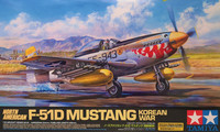 North American F-51D Mustang Korean War, 1:32