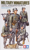 German Infantry Set (Mid-WWII), 1:35