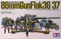 German 88mm Gun Flak 36/37, 1:35