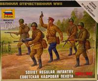 Soviet Regular Infantry 1941-1942, 1:72