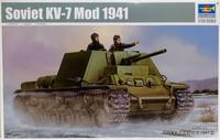 Soviet KV-7 Mod 1941, 1:35