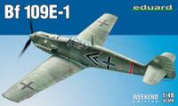 Bf 109E-1, 1:48 (pidemmällä toimitusajalla)