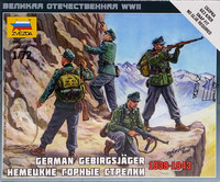 German Gebirgsjäger 1939-1943, 1:72