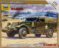 American Armored Personnel Carrier M-3 Scout Car, 1:100