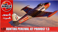 Hunting Percival Jet Provost T.3, 1:72