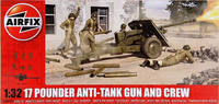 17 Pounder Anti-Tank Gun and Crew, 1:32