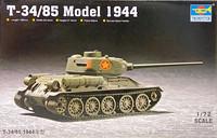 T-34/85 Model 1944, 1:72 (pidemmällä toimitusajalla)
