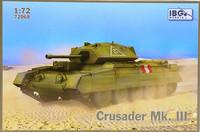Crusader Mk.III, 1:72 (pidemmällä toimitusajalla)