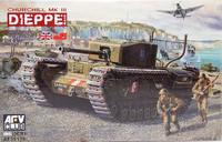 Churchill Mk.III Dieppe Raid, 1:35