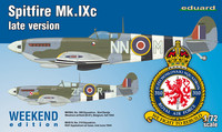 Supermarine Spitfire Mk.Ixc Late Version, 1:72
