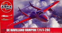 De Havilland Vampire T.11J-28C, 1:72
