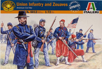 Union Infantry and Zouaves, 1:72