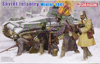 Soviet Infantry Winter 1941, 1:35