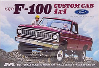Ford F-100 4x4 Custom Cab, 1:25