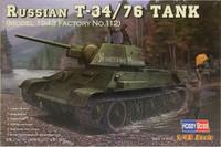 Russian T-34/76 Tank (Model 1943 Factory No.112), 1:48 (pidemmällä toimitusajalla)