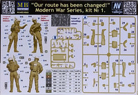 Our Route Has Been Changed, Modern War Series, 1:24