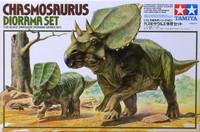 Chasmosaurus Diorama Set, 1:35