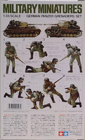German Panzer Grenadiers Set, 1:35