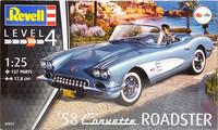 Corvette Roadster '58, 1:25 (pidemmällä toimitusajalla)