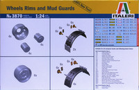 Wheels, Rims & Mud Guards 1:24