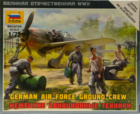 German Air Force Ground Crew, 1:72