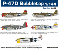 P-47D Bubbletop, 1:144