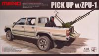 Pickup with ZPU-1, 1:35