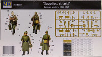 German Soldiers, 1944-1945 Supplies, at last!, 1:35