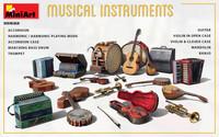 Musical Instruments, 1:35 (pidemmällä toimitusajalla)