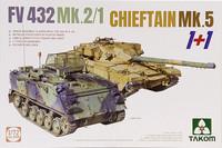 FV432 Mk.2/1 & Chieftain Mk.5, 1:72