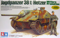German Tank Destroyer Hetzer Mid Production, 1:35