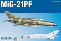 MiG-21PF, 1:72 (pidemmällä toimitusajalla)