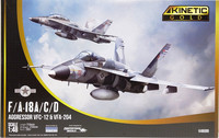 F/A-18A/C/D Aggressor VFC-12 & VFA-204, 1:48 (pidemmällä toimitusajalla)