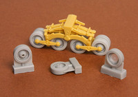40/43M Zrinyi Assault Gun Roadwheels (for Bronco kit), 1/35
